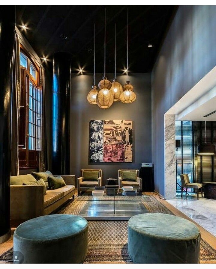 Gentil Warehouse Living, Warehouse Conversion, Color Interior, Interior Design, My  House, Argentina, Hotels, Jose Luis, Dark Walls