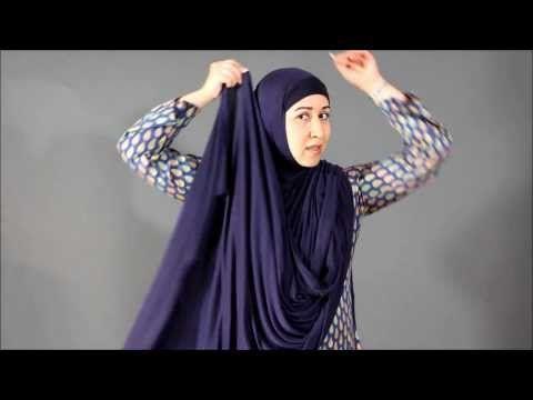 Ummah Couture Hijab Tutorial: The EZHijab