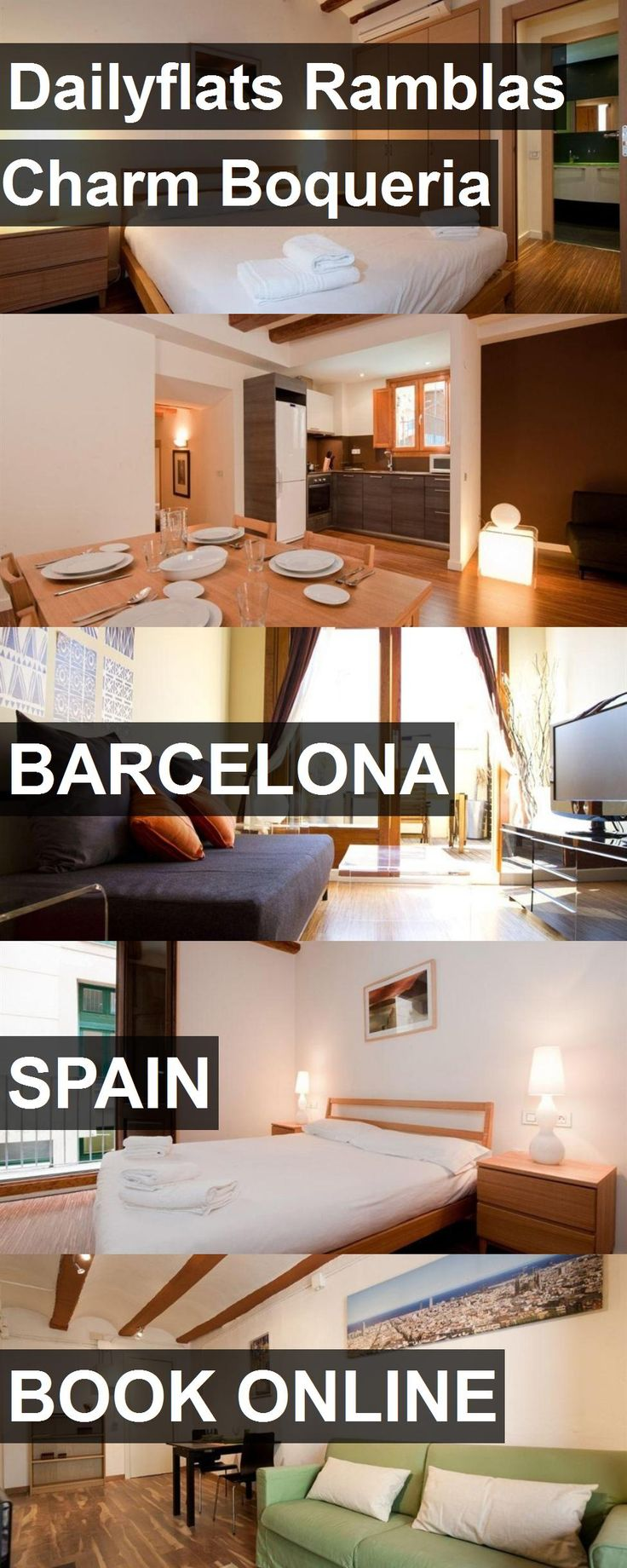 Hotel Dailyflats Ramblas Charm Boqueria in Barcelona, Spain. For more information, photos, reviews and best prices please follow the link. #Spain #Barcelona #travel #vacation #hotel