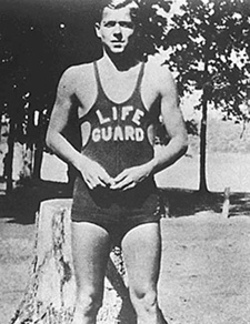 That's right... Ronald Reagan was a lifeguard at the riverside beach near Dixon, Illinois when he was a teenager. He rescued 77 people from drowning!