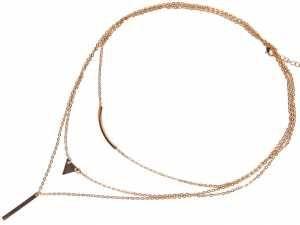 Damski Naszyjnik łańcuszek delikatny triangle