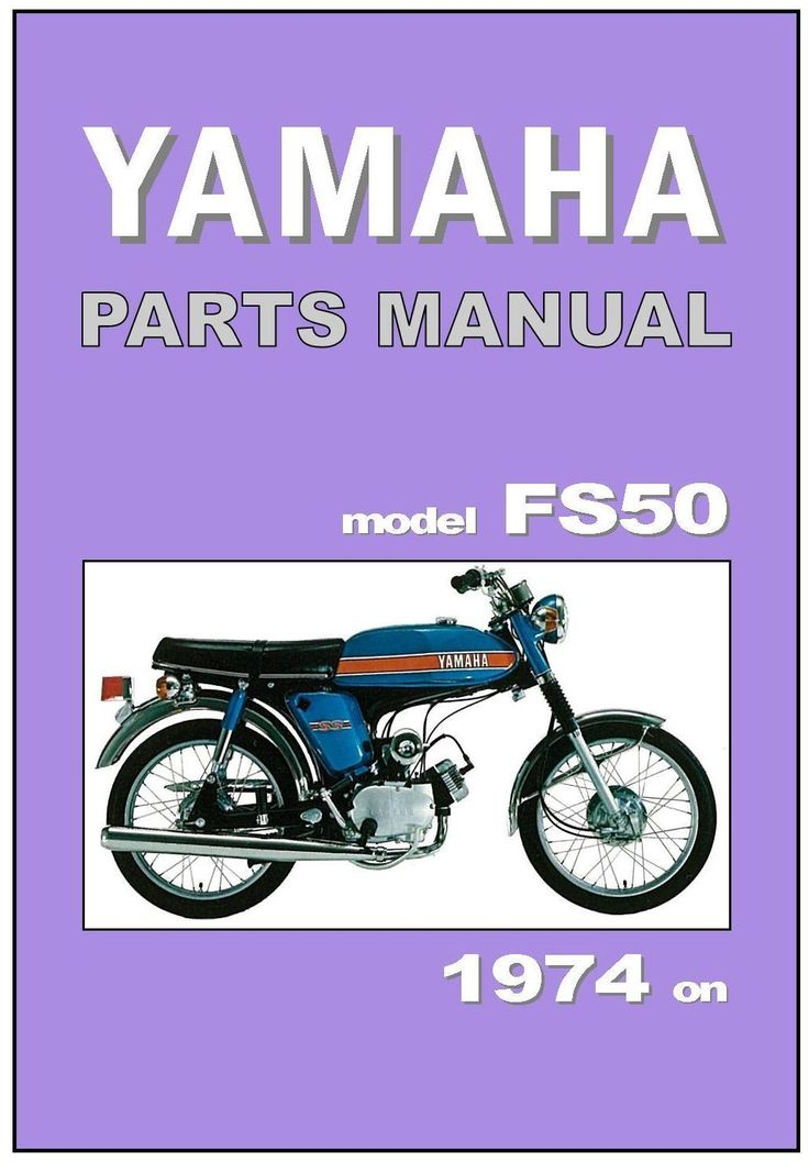 YAMAHA Parts Manual FS50 FS1 1974 1975 1976 1977 1978 Replacement Spares Catalog | eBay