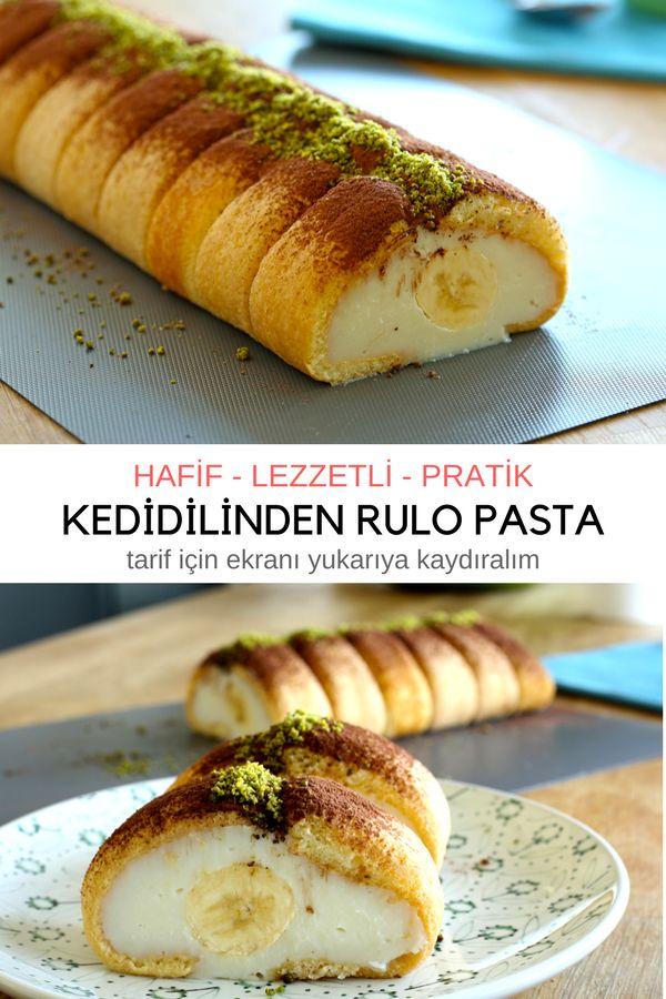 Videolu anlatım Kedidili Bisküviyle Rulo Pasta (videolu) Tarifi nasıl yapılır? 3.169 kişinin defterindeki bu tarifin videolu anlatımı ve deneyenlerin fotoğrafları burada. Yazar: Elif Atalar