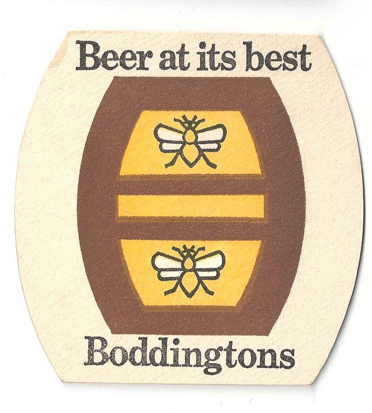 Boddingtons Vintage Beer Mat