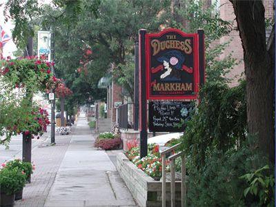 Markham Main  street pub Ontario