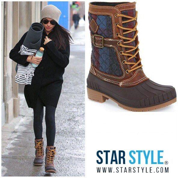 Meghan Markle wearing Kamik boots http://liketk.it/2pVxN @liketoknow.it #liketkit #meghanmarkle #kamik