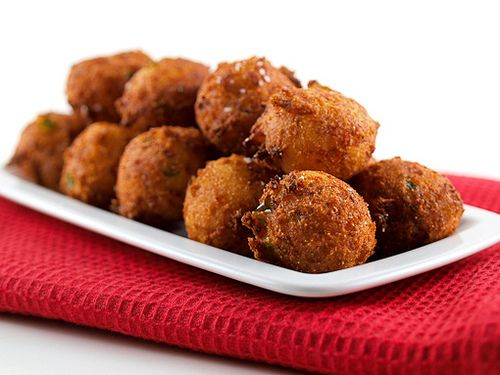 Crab Jalapeno Hushpuppies by Evil Shenanigans. I've GOT to try this.