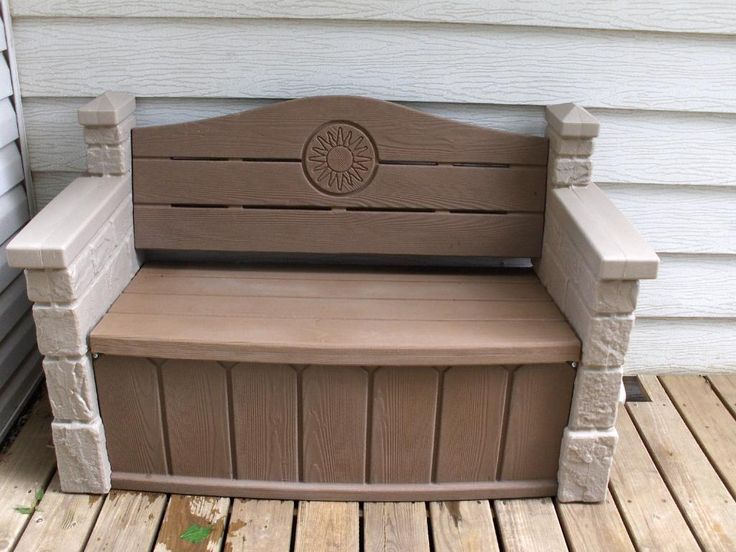 Furniture: Contemporary Outdoor Storage Bench Calgary Also Outdoor Storage Bench Wooden from 3 Tips To Get Best Quality Of Deck Storage Bench