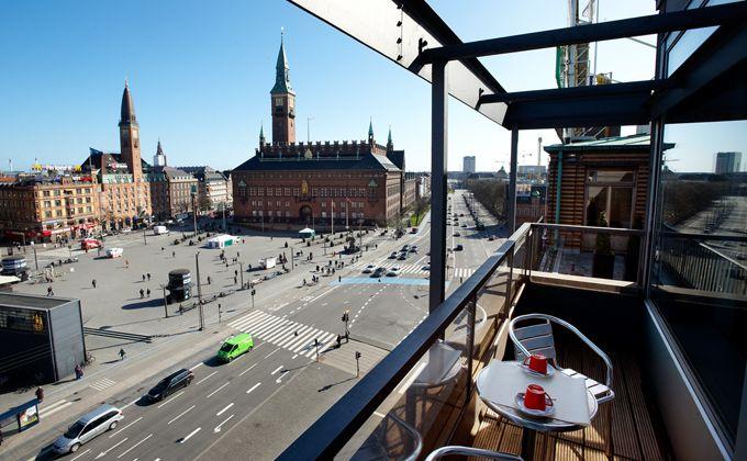 Fed udsigt! :-) Trendy hotelværelse i København centrum - Se billeder af hotelværelser