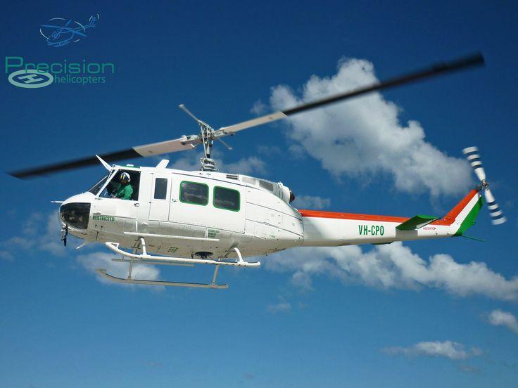"Iroquois UH-1H ""Huey""  Coffs Harbour NSW www.precisionhelicopters.com.au"