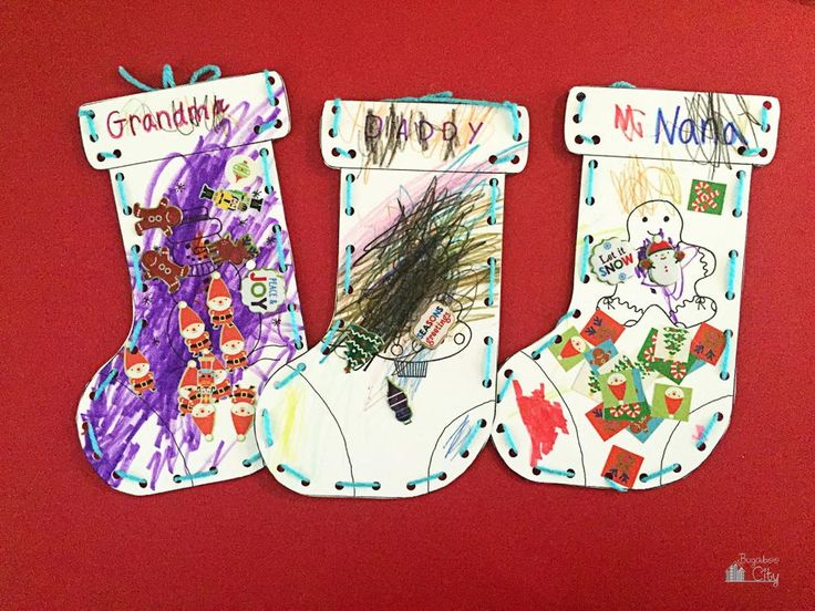 Kindergarten Christmas Craft Ideas Part - 33: Free Christmas Crafts For Kids | AllFreeHolidayCrafts.com