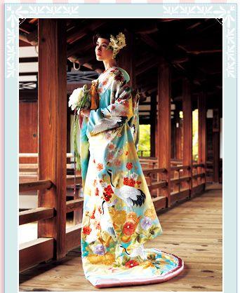utikake wedding kimono