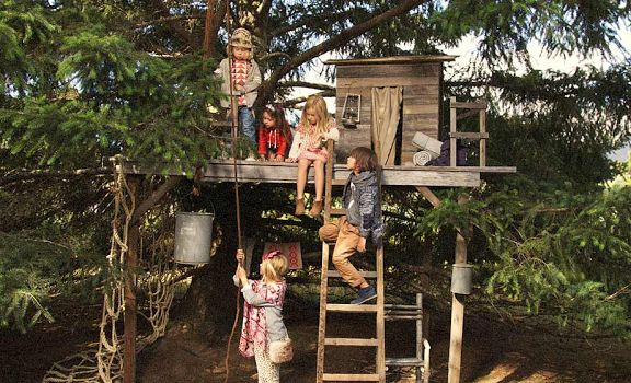 seed heritage kids campaign cubby house fort