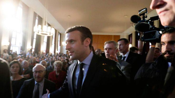 Die Hoffnung in Berlin: Macron will Frankreich wieder glaubwürdig machen