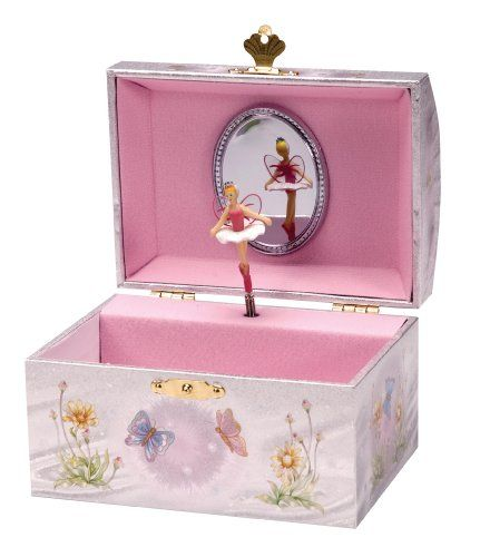 Had something like this when i was little. Dont remember having much n it but enjoyed watching the beautiful dancer.
