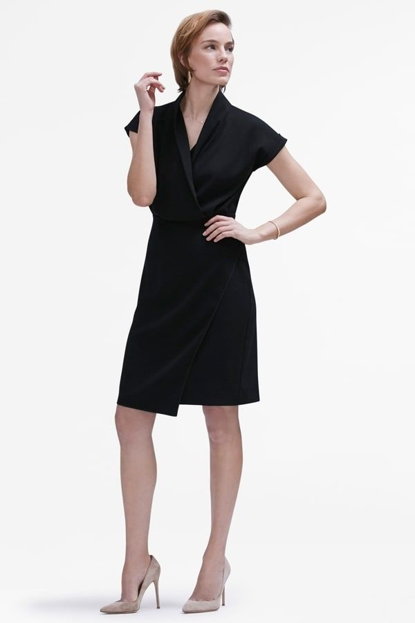09a9c1b130 Here are 9 of our favorite black work dresses that are perfect for  presentations
