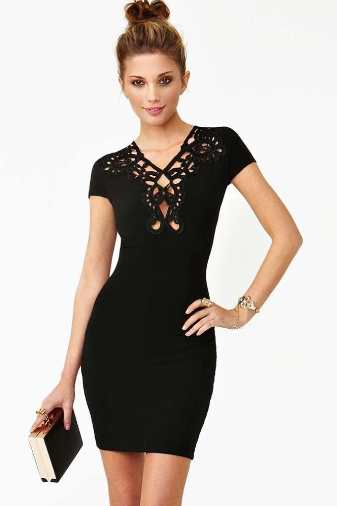 New Romance Dress - Black