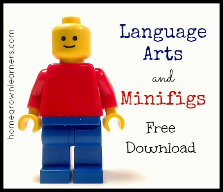 Language Arts and Minifigs Free Download