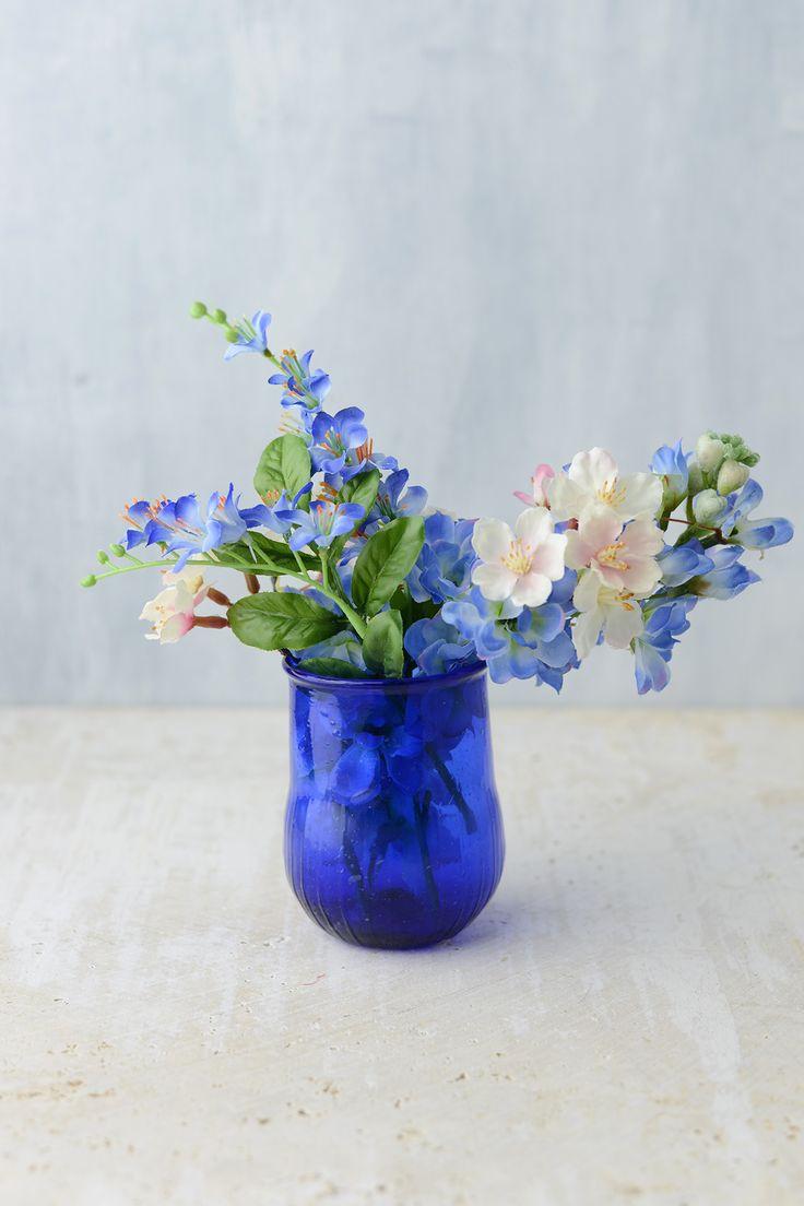 Best 25 blue glass vase ideas on pinterest glass vase cobalt blue glass vase reviewsmspy