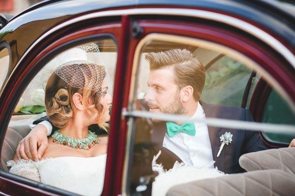 Un matrimonio vintage ispirato ai viaggi