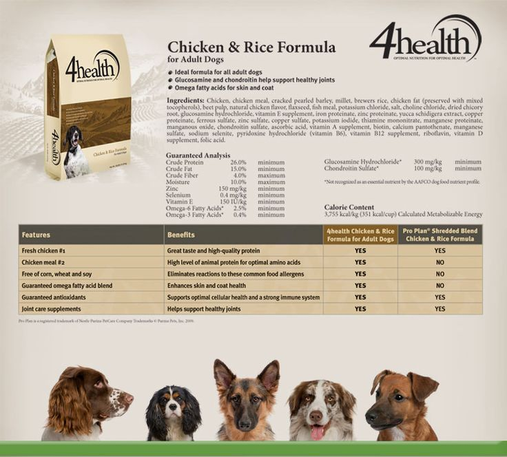 4health Puppy Food >> 4health puppy food feeding guide | Food