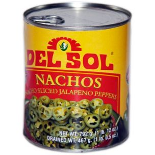 Del Sol Nachos jalopenoviipale 0.792kg