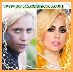 Parecidos con famosos: Lady Gaga sin maquillaje