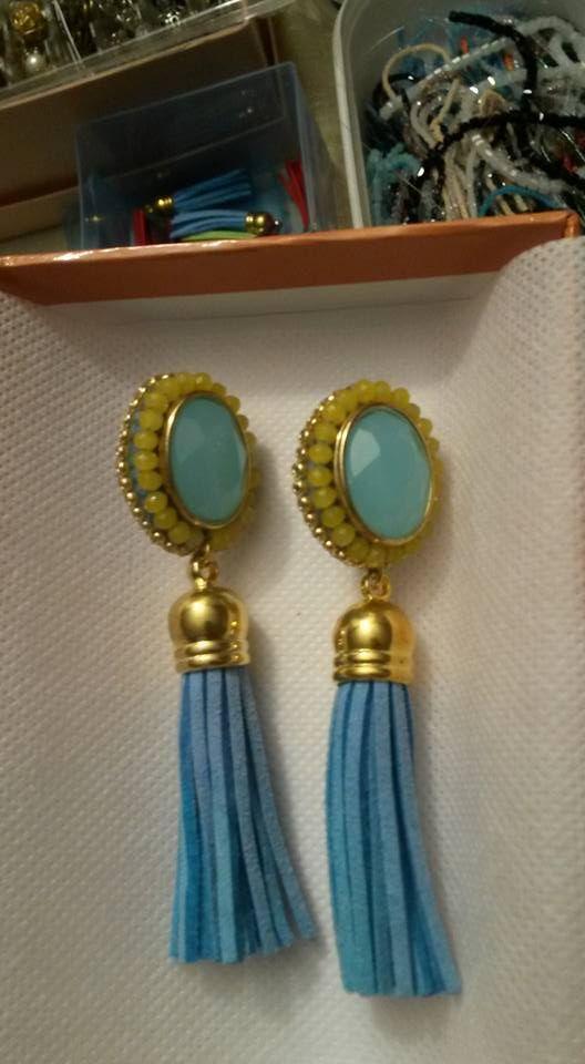 #earrings #tassel