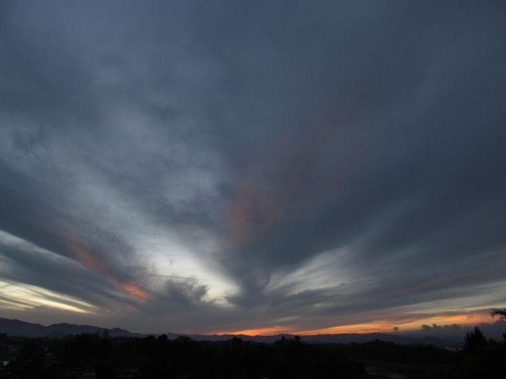 Sunset Guatape, Colombia