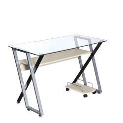 Juvenil mesa de ordenador/oficina, disponible en 3 colores. Estante para CPU  y estanterias, se puede montar en el lado que se necesite.