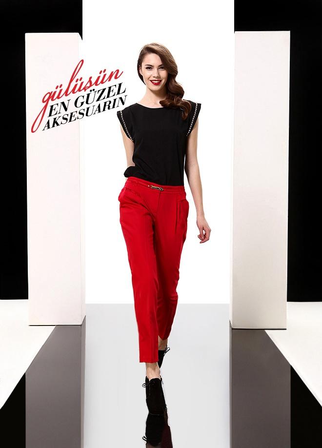 Fusion Pantolon Markafoni'de 89,90 TL yerine 71,99 TL! Satın almak için: http://www.markafoni.com/product/3616476/