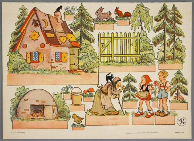 77.5209: Hansel & Gretel | paper doll | Paper Dolls | Dolls | National Museum of Play Online Collections | The Strong