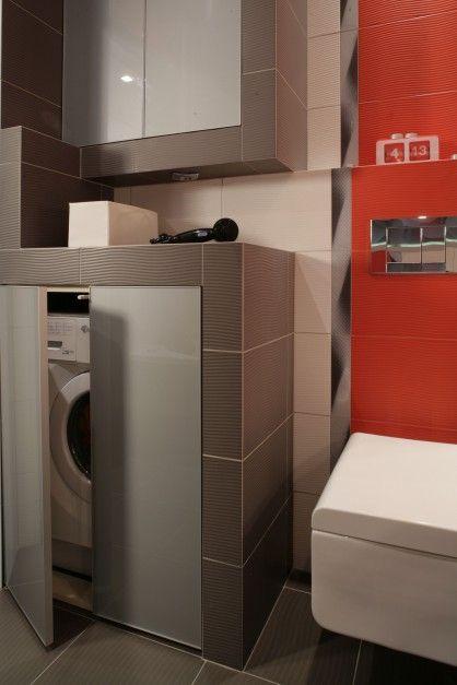 Łazienka z pralką: 12 sposobów na zabudowę  - zdjęcie numer 9