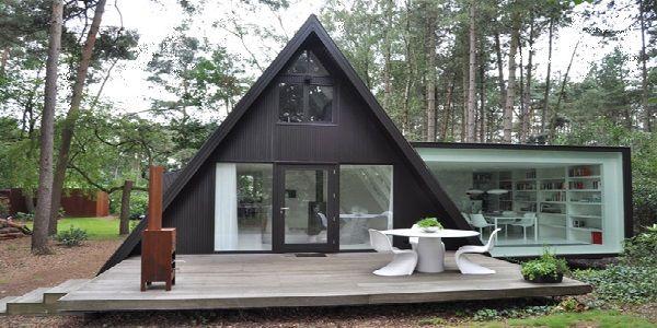 Triangular House Design Found in Belgium