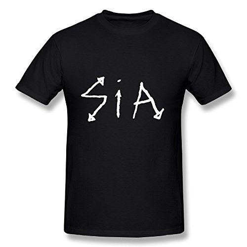 Hot Sia Tour 2016 Logo Tee Shirt For Men