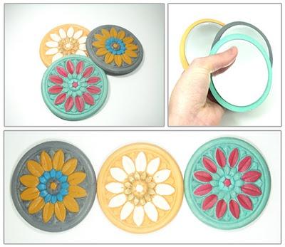 Handmade pocket mirror!!!!! Inexpensive Christmas gifts