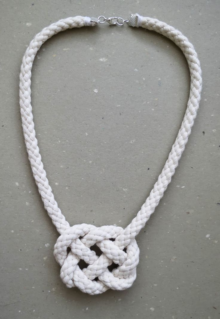 Celtic Knot - Rope Necklace