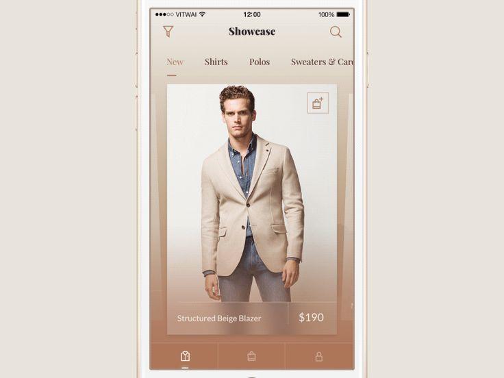 Fashion shop app