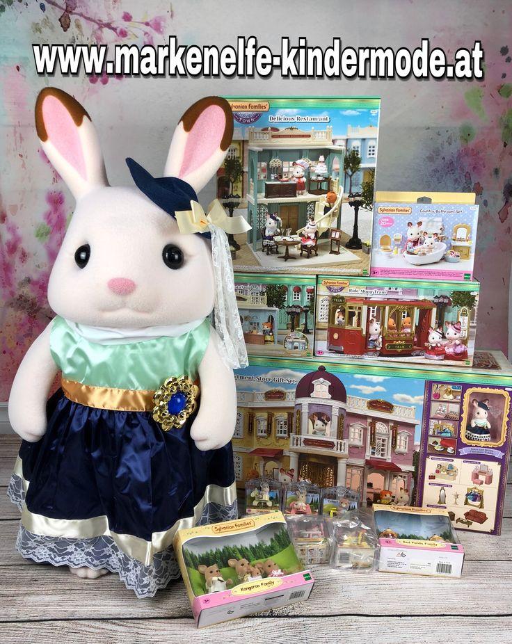 Diese tollen Sachen der Sylvanian Families gibts jetzt auch im Shop unter: www.markenelfe-kindermode.at