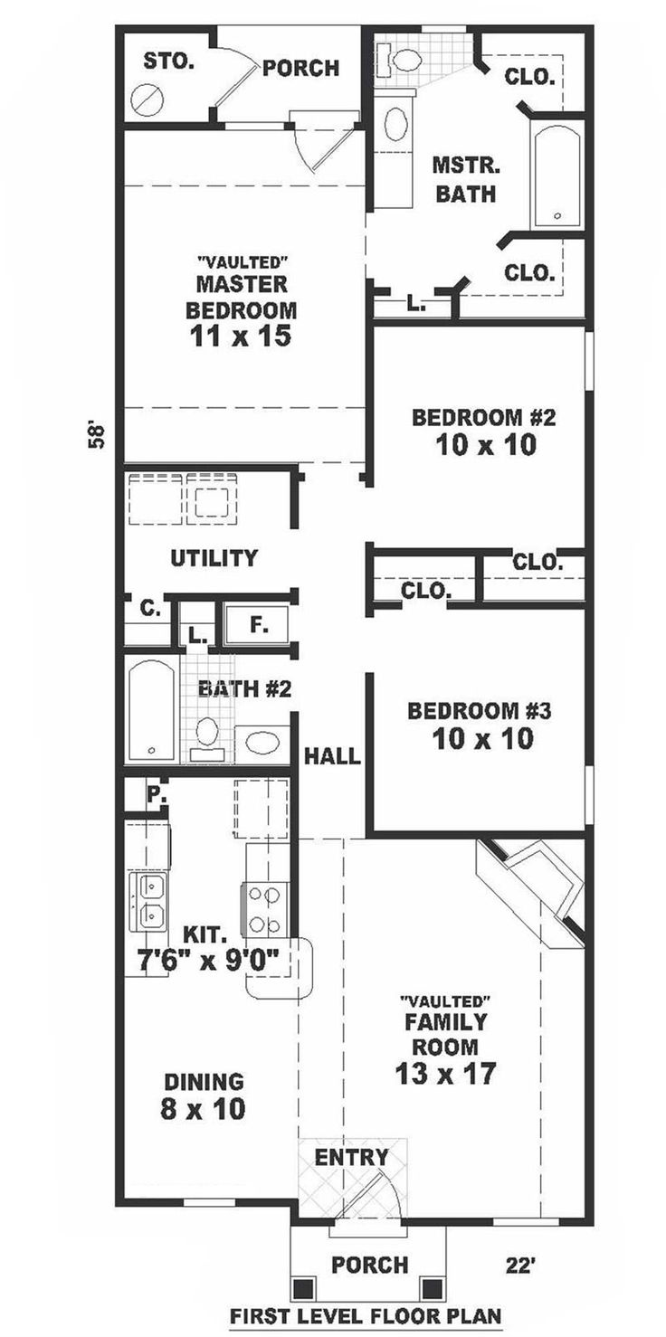 19 best house plans images on pinterest home plans square feet