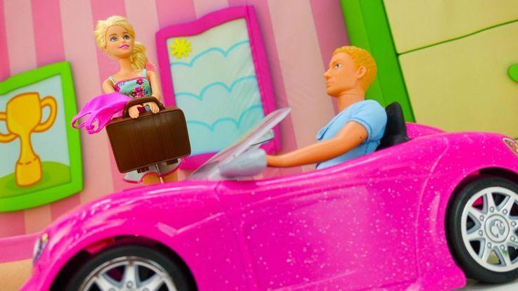 БАРБИ и КЕН: куклы собираются В ОТПУСК! Игры для девочек