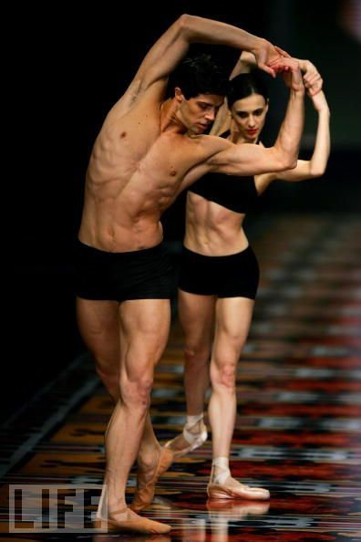 Roberto Bolle, La Scala Ballet, American Ballet Theatre, and unknown partner