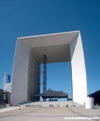 La Grande Arche - Johann Otto von Spreckelsen - Great Buildings Architecture