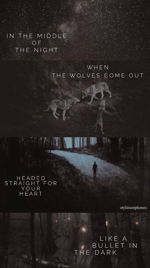 Wolves Lyrical Lockscreen — ctto: @stylinsonphones