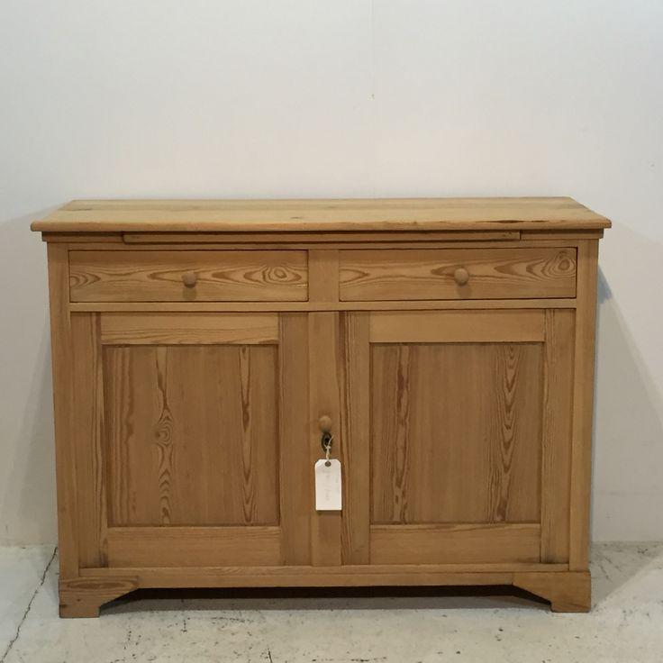 Old Pine 2 Door / 2 Drawer Base Cupboard (T6808B)