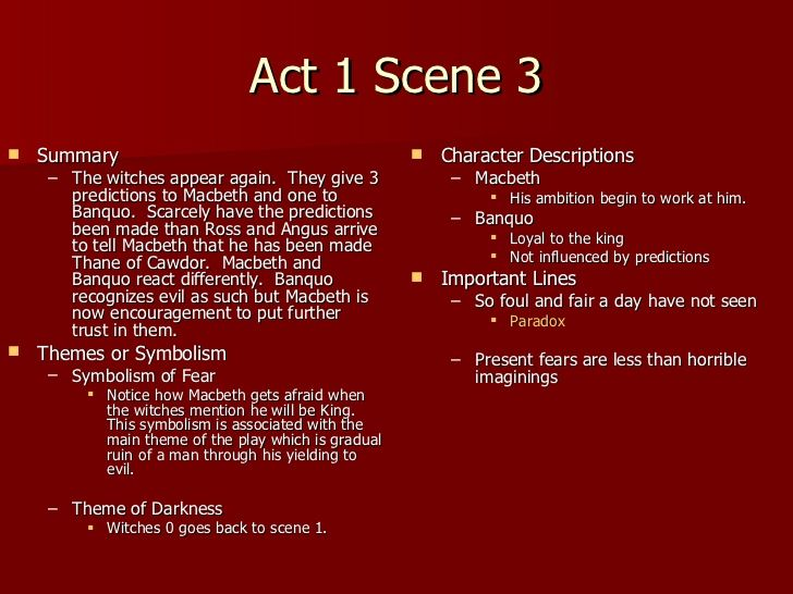 macbeth act 2 essay The soliloquy in act ii, scene 1 is extremely important because it is the last time we hear macbeth's thoughts on murdering king duncan before he actually performs the act macbeth is just about to murder king duncan and is hence about to create an upheaval in the hierarchical state of scotland.