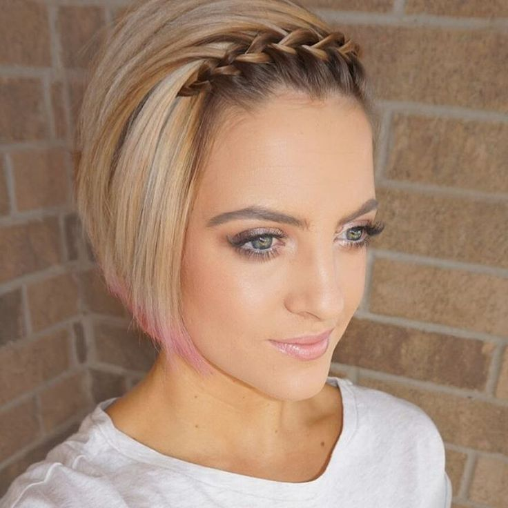 Best 25+ Braiding bangs ideas on Pinterest | French ...