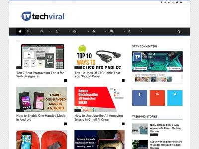 SEO Report for techviral.com - techviral.com is worth $ 475,920.00 | Statvoo - Website Discovery & Reviews