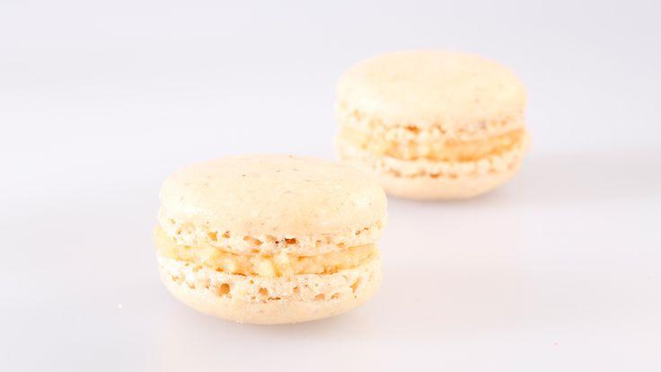 Frische Caramel fleur de sel Macarons kaufen kaufen. Handgemacht und von bester Qualität. Einfach bestellt und schnell versandt! #macarons #macaron