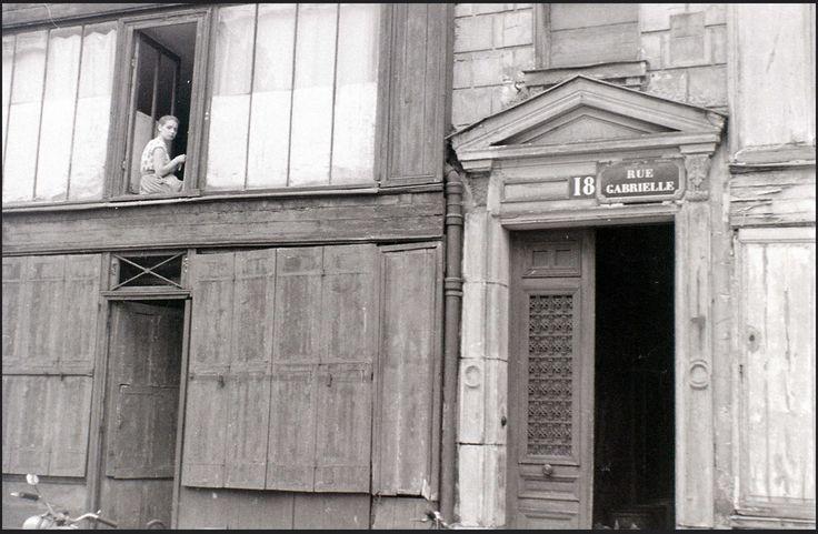 La Mademoiselle de la rue Gabrielle, Paris, 27 July 1955 © allhails